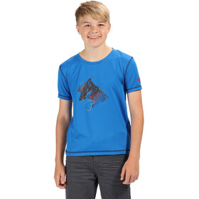 Regatta Alvarado IV Shortsleeve Shirt Children blue